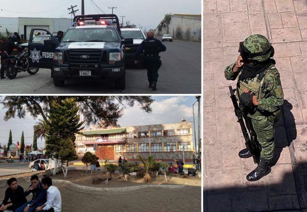 Con Sedena Policía Federal Y Ssem Otzolotepec Tendrá Feria