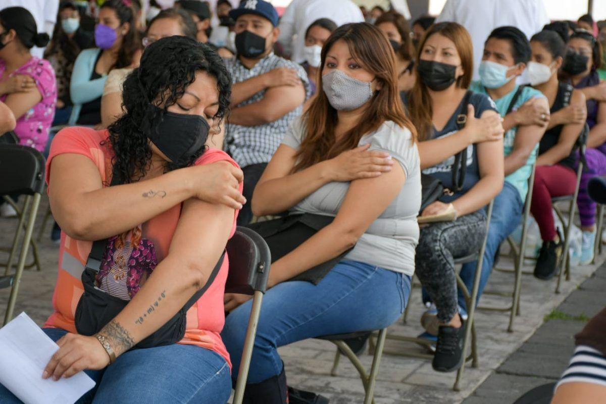 11 municipios del EdoMéx comienzan vacunación para jóvenes de 18 a 29 años
