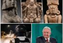 Guardia Nacional encargado de recuperar piezas arqueológicas robadas: AMLO