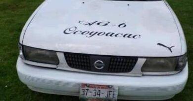 Llevaba viaje a Lerma y le robaron su taxi