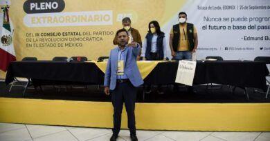 Agustín Barrera Soriano, nuevo dirigente del PRD EdoMéx