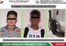 Detienen a dos jóvenes con arma de fuego en Chimalhuacán
