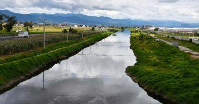 En tramo Otzolotepec-Temoaya calculan riesgo medio por crecida del Río Lerma