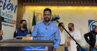 Se registra Anuar Azar como dirigente del PAN en el EdoMéx