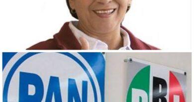 Delfina Gómez continúa como favorita para gobernar EdoMéx; pero PRI-PAN amenaza