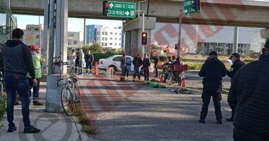 Arrollan a ciclista en Toluca y pierde la vida; responsable huyó
