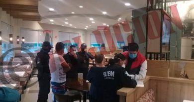 Persona lesionada por bala perdida en restaurante de Toluca