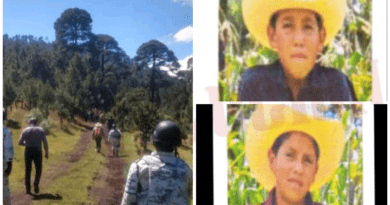 Sigue búsqueda de 2 menores extraviados en zona boscosa de Amanalco