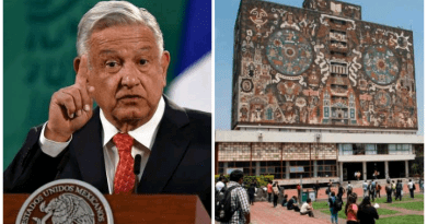 """""""Basta de agresiones a la UNAM"""": senadores a AMLO quien dijo se volvió individualista"""