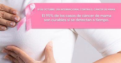 Dar atención prioritaria al cáncer de mama llamado de la Codhem