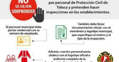 Alertan en Toluca por falsos bomberos para comerter fraudes a comerciantes