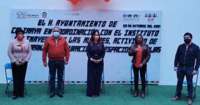 Inaugura Calimaya Espacios Naranjas en pro de las mujeres