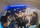 ¡Jálate, ¡jálate!; gritan pasajeros a chofer de combi tras intento de asalto en Naucalpan