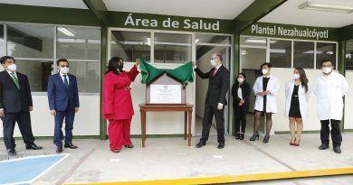 """Plantel """"Nezahualcóyotl"""", consolidado como espacio educativo de calidad para las juventudes del Valle de Toluca"""