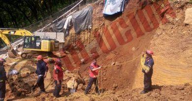 Un trabajador muerto y otro lesionado tras derrumbe en Valle de Bravo