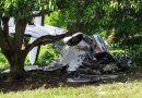 Un muerto deja desplome de avioneta en Tapachula, Chiapas