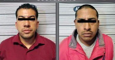 Caen dos sujetos por abuso sexual contra mujeres en Toluca