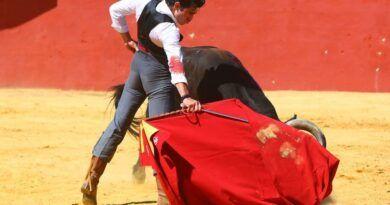 """Llega a México el novillero """"Lolo"""" Gutiérrez para su encuentro en Huamantla"""