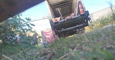Recuperan camión con carga valuada en 500 mil pesos en Acolman