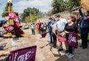 Entregan equipos de cómputo en Zinacantepec; inician construcción de drenajes sanitarios