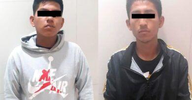 Detienen en Ecatepec a dos probables asaltantes de transporte público