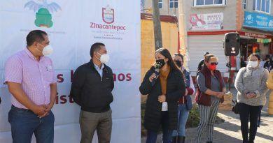 Zinacantepec rehabilita la Calzada la Huerta