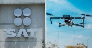 Con drones, el SAT buscará comprobar domicilios fiscales