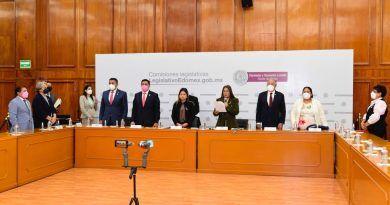 Prometen mejoras legislativas tras instalación de Comisiones del Congreso del EdoMéx