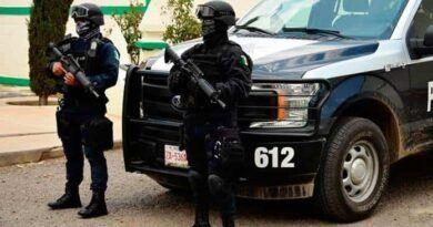 Dentro de su automóvil matan a 4 policías de Zacatecas