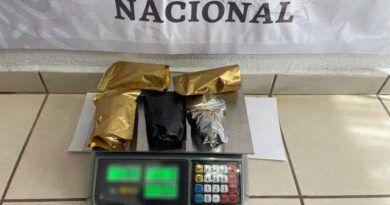 En Morelia decomisan paquetes con golosinas hechas de marihuana
