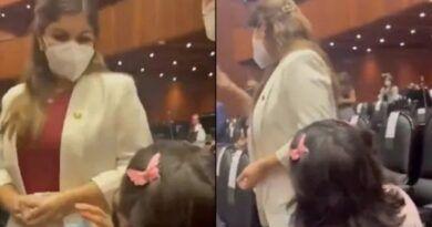 Eso es teatro; legisladoras de Morena ante suplica de madre por falta de medicamentos contra cáncer